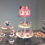 Buffet gâteau Minnie