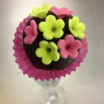 Cake pop's flowers