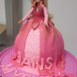 Gâeau Barbie Aurore Cake