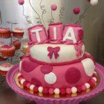 Gâteau baptême Tia Cake
