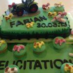 Gâteau réussite scolaire Fabian