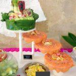 buffet saumon fumé