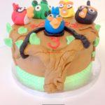 gateau angry birds cake
