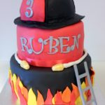 gateau pompiers fire departement cake