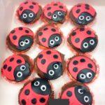 lady bird cupcake coccinelle