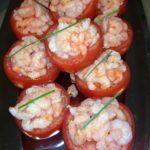 tomates crevettes roses
