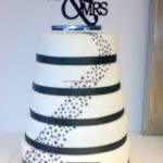 wedding cake stars étoiles
